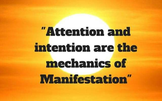 attention and intention